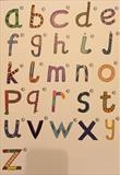 Alphabet (lowercase) by Cathy Williams, Illustration