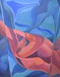Distortion 14 by Cathy Williams, Painting, Oil on canvas