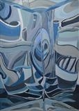Distortion 9 by Cathy Williams, Painting, Oil on canvas