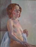 Marie-Clare by Cathy Williams, Painting, Oil on canvas